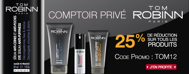 -25% sur les produits homme Tom robin