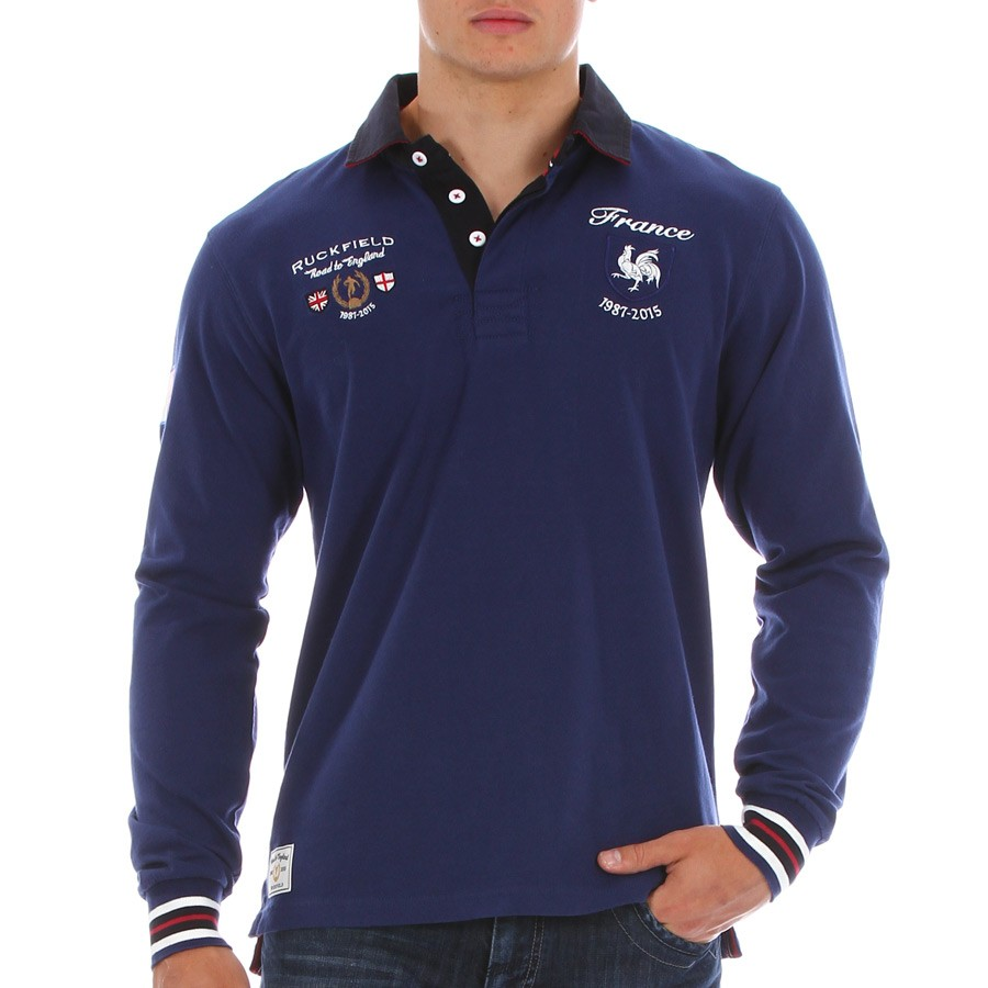 polos homme rugby
